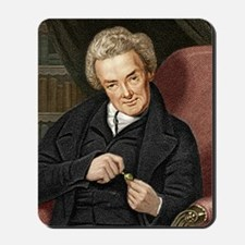 William Wilberforce, British politician Mousepad