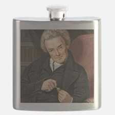 William Wilberforce, British politician Flask