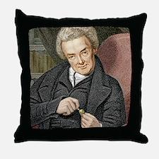 William Wilberforce, British politici Throw Pillow