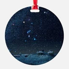 Winter sky with Orion constellation Ornament