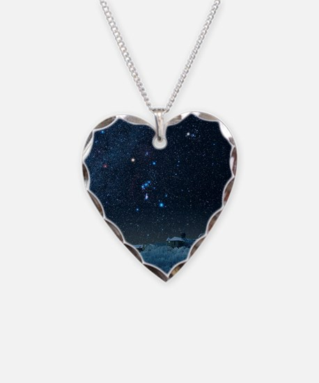 Winter sky with Orion constel Necklace
