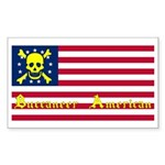 Buccaneer American Rectangle Sticker