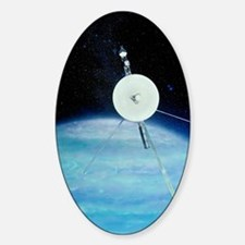 Voyager 2 approaching Solar system Decal