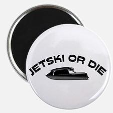 Jet Ski or Die Vintage Magnet