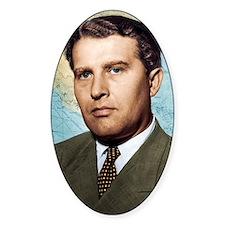 Wernher von Braun, German rocket pi Decal