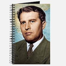 Wernher von Braun, German rocket pioneer Journal