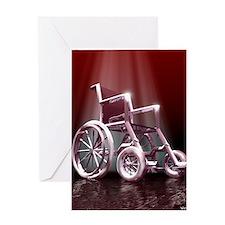 Wheelchair Greeting Card