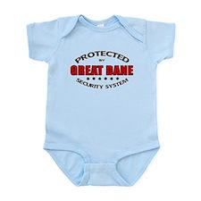 Great Dane Security Infant Bodysuit