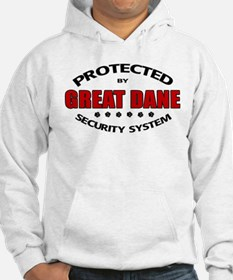 Great Dane Security Hoodie Sweatshirt