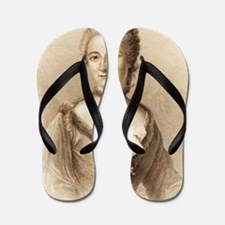 Emilie du Chatelet, French physicist Flip Flops