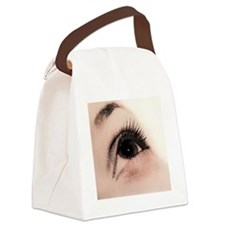 Woman's eye Canvas Lunch Bag
