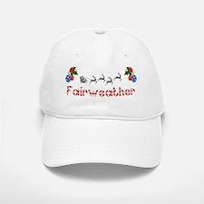 Fairweather, Christmas Baseball Baseball Cap