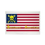 Buccaneer American Rectangle Magnet (100 pack)