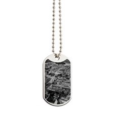 Aerial view of Chernobyl soon after the a Dog Tags