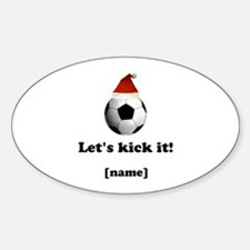 Personalized Lets Kick It! - Xmas Decal