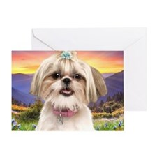 meadow(blanket) Greeting Card