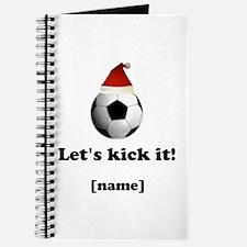 Personalized Lets kick it! - Xmas Journal
