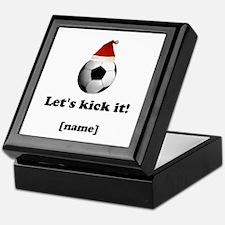 Personalized Lets Kick It! - Xmas Keepsake Box