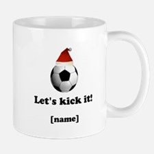 Personalized Lets kick it! - Xmas Mugs