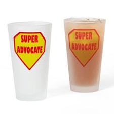 Super Advocate Drinking Glass