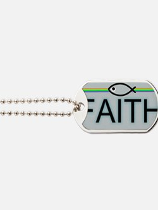 Jesus Fish - Faith Dog Tags