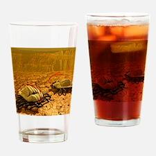 Alien life form, artwork Drinking Glass