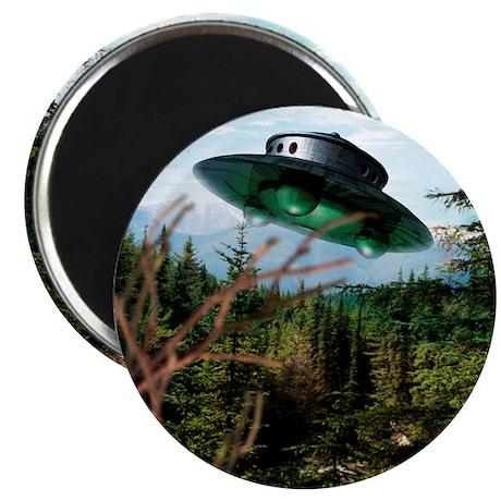 Alien spaceship Magnet