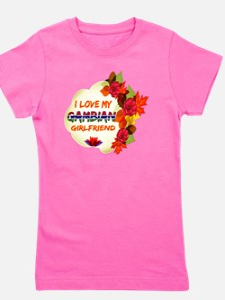 Gambian Girlfriend designs Girl's Tee