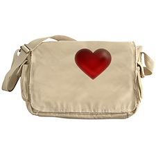 I Heart St. Lucia Messenger Bag