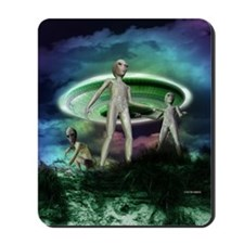 Alien invasion Mousepad