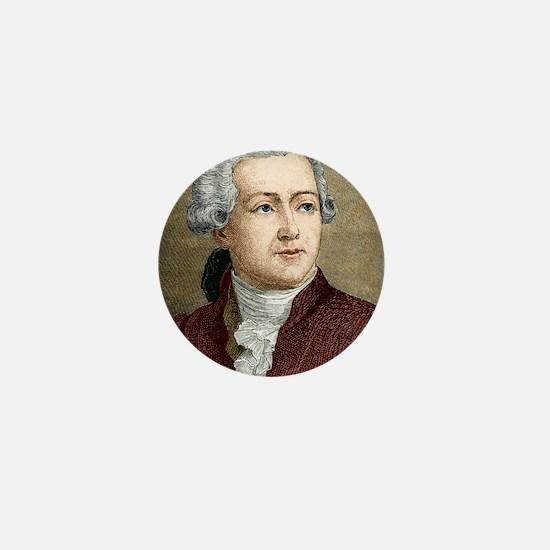Antoine Lavoisier, French chemist Mini Button