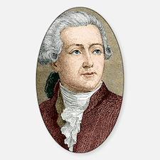 Antoine Lavoisier, French chemist Sticker (Oval)