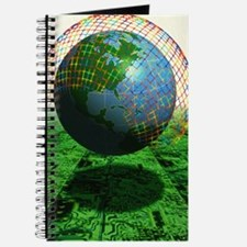 Abstract artwork of the World Wide Web Journal