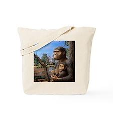 Australopithecus afarensis, artwork Tote Bag