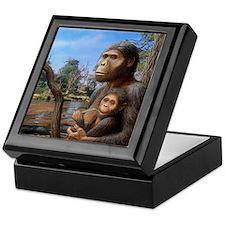 Australopithecus afarensis, artwork Keepsake Box