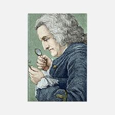 Bernard de Jussieu, French botani Rectangle Magnet