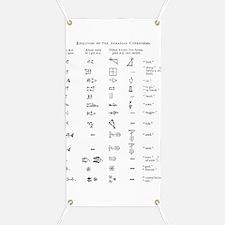 Evolution of cuneiform writing Banner