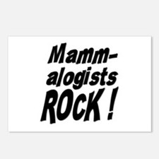 Mammalogists Rock ! Postcards (Package of 8)