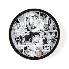 Glenn And Maggie Wall Clock