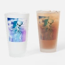 Alien Drinking Glass
