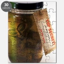 Alien in a jar, Roswell, New Mexico Puzzle