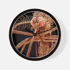 Asian tiger mosquito, SEM Wall Clock