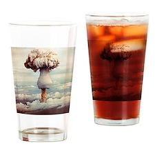 Atomic bomb explosion Drinking Glass