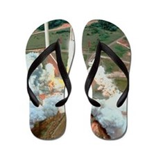 Artist's impression of the launch of an Flip Flops