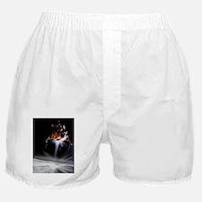 Apollo 11 Moon landing, computer artw Boxer Shorts