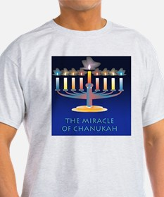Chanukah Menorah Miracle T-Shirt