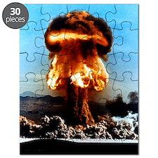 Atomic bomb explosion Puzzle