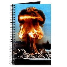 Atomic bomb explosion Journal