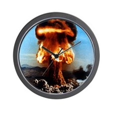 Atomic bomb explosion Wall Clock