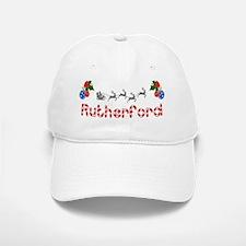Rutherford, Christmas Baseball Baseball Cap